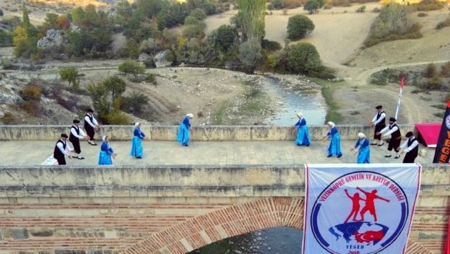 Tarihi Köprü'de Cumhuriyet Bayramı Kutlaması (2)